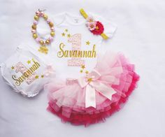 first birthday girls,birthday outfit,pink and gold birthday outfit,first birthday outfit,1st birthday tutu ,pink tutu,princess birthday outfit