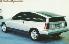 OG   1986 Volvo 480 - Project G13   Proposal by Rolf Malmgren from Volvo Sweden
