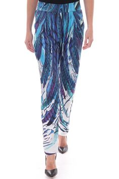 The Hockney Quill crepe pants from British Designer Kevan Jon feature an allover feather print and are extremely versatile and would great worn with a black strappy top with heels for an evening look or flat sandals and bikini top for a great beach look.   Hockney Quill Pants by kevan Jon. Clothing - Bottoms - Pants & Leggings Blackpool, Lancashire, North West England, England, United Kingdom