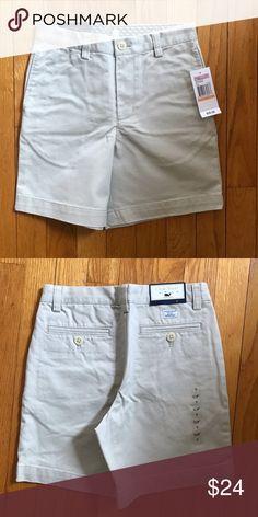 a003ff0748 NWT Vineyard Vines Club Shorts Stone Size 7 NWT 100% cotton twill shorts.  Adjustable