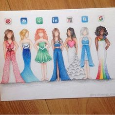 Apps as dresses