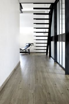 Laminate floor tiles with wood effect BERRYALLOC - PURELOC by @Woodco #parquet #wood #stair