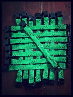 Hockey Lace Bracelet by KratzysCreations on Etsy
