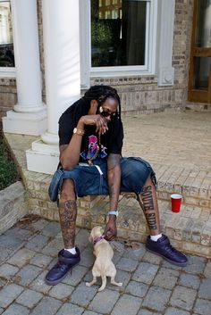 2 chainz with a friend.