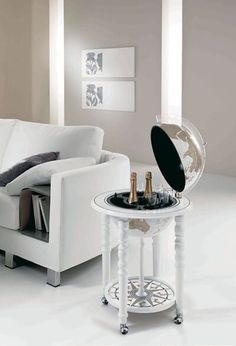 White Globe Bar