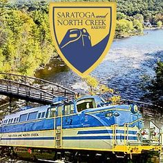 Polar Express Ride - Saratoga and North Creek Railway - Scenic Train Rides in the Adirondacks NY Adirondacks Ny, Route 66, Lake George Ny, North Creek, Scenic Train Rides, New England Fall, Adirondack Mountains, Travel Posters, Day Trips