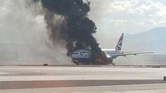 Fuego en aeronave causa evacuación en aeropuerto de Chicago | El Puntero