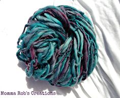 83 Yards Kettle Dyed Handspun Superfine by MommaRobsCreations, $24.00