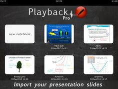Playback - excellent iPad app for creating screencasts and exporting into mp4