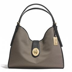 Madison Carlyle Shoulder Bag in Jacquard Fabric