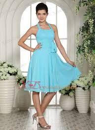 knee-length chiffron bridesmaid dresses - Google Search