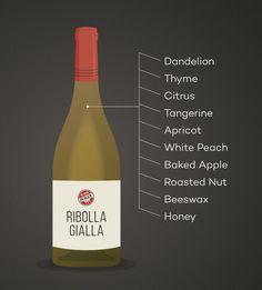 Ribolla Gialla Wine Tasting Notes #Wine #Wineeducation