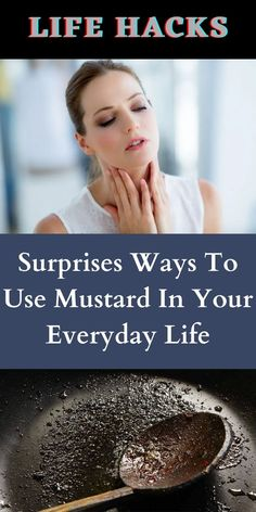 Mustard is obviously one of life's great condiments. It's versatility in cooking is a marvel, but because of some vital ingredients in mustard. #SurprisesWays #Use #Mustard #EverydayLife 1 Dollar Shop, Oscar Fish, Blue Jeep, Korean Eye Makeup, Ankle Jewelry, Bridal Heels, Perfume, Helium Balloons, Romantic Dates