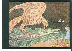 The Eagle and the pike by Joseph Alanen                                                                                                                                                                                 More