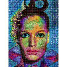 """I am choosing to feel good"" by John Lijo Bluefish, Canvas Giclee Wall Art"