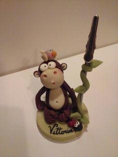 #quisquilie #porcelanafria #scimmia