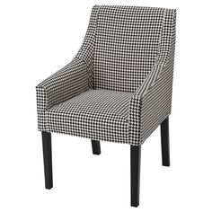 Sakarias (IKEA Chair With Armrests) color:Grey stained järpön duvholmen anthracite ( Furniture > Dining Furniture > Dining Table   Chair > Dining Chairs ) #49393591