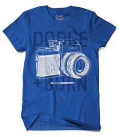 camera t-shirts by Dodge & Burn