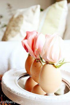 Easter decoration - mini vases