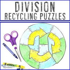 DIVISION Earth Day Math Activity or Games for Distance Learning Packets | 3rd, 4th, 5th grade, Activities, Basic Operations, Earth Day, Games, Homeschool, Math, Math Centers 5th Grade Classroom, Special Education Classroom, Reading Recovery, Ell Students, Math Math, Basic Math, Homeschool Math, Science Lessons, 5th Grades