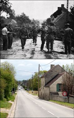 Award-Winning Battlefield Tours with In The Footsteps Battlefield Tours Ww2 History, World History, Military History, D Day Ww2, Then And Now Pictures, Battle Of Normandy, D Day Landings, Canadian Army, World War One