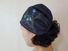 1번 자수여행 자수두건 : 네이버 블로그 Head Accessories, Embroidered Clothes, Ear Warmers, Head Wraps, Headbands, Hats, How To Wear, Dress Ideas, Bohemian