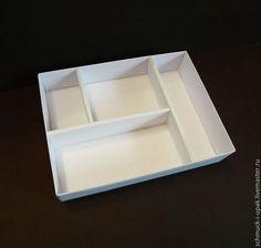 Коробки на заказ малым тиражом! Коробка с перегородками. Перегородки съемные :)