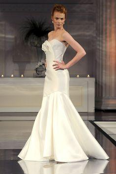 wedding dress by Angel Sanchez