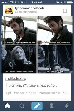 "Oh my GOD #otp ""captainswan I SRSLY AM SO DEAD THIS IS ADORABLE"
