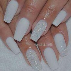 Pretty winter nails art design inspirations 6
