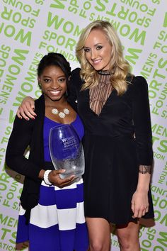 Simone Biles Photos - 35th Annual Salute to Women in Sports Reception - Zimbio