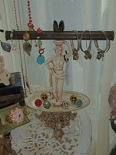 Small goddess with tray. $135.00