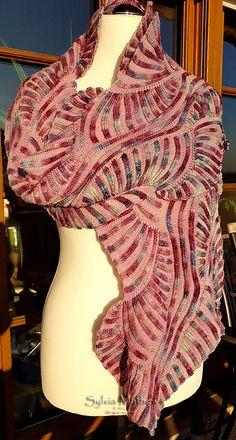 Стирки: проект галереи для шарфа под картиной моря Светлана Гордон