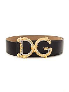 Dolce & Gabbana Embellished Buckle Belt In Black Dolce & Gabbana, Fashion Belts, Sneakers Fashion, Fashion Accessories, Trendy Accessories, Fashion Stores, Fashion Online, Zapatillas Nike Jordan, Luxury Belts