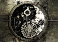 steampunk yin and yang - Google Search