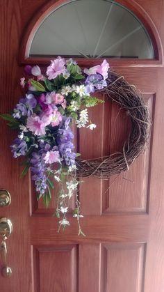 Wild Bill's Wreaths, Spring Wreath $45