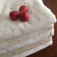 New Imabari towels with mini apples