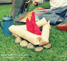 Virtual Summer Camp crafts, ideas