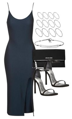 """""""Style #11338"""" by vany-alvarado ❤ liked on Polyvore featuring Topshop, MICHAEL Michael Kors, Stuart Weitzman and ASOS"""