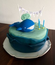 Walvis-Verjaardagstaart