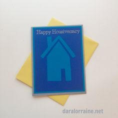 Happy Housiversary - Boxed Set of 12 Cards