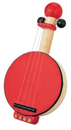 Banjo - Plan Toys - Muziek -