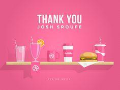Thank you Josh Sroufe by Gustavo Zambelli