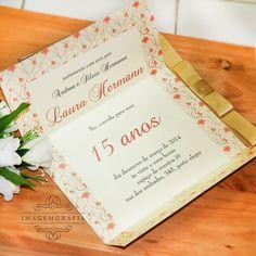 Convite Laura   15 Anos