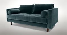 "Sven Pacific Blue 72"" Sofa - Sofas - Article 