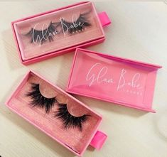 FSD Make your own brand lashes with PVC pink hot stamping logo drawer box wholesale siberian mink lashes mink lashes Whatsapp 13780648208 Big Lashes, 3d Mink Lashes, Makeup Boutique, Eyelash Case, Lashes Logo, Mua Makeup, Makeup Geek, Beauty Makeup, Magnetic Eyelashes