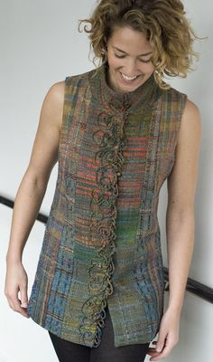 Vest from Darwall scarves