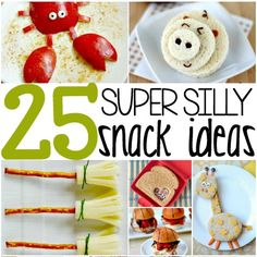 25 KID FRIENDLY FOOD IDEAS Make mealtime fun with these 25 kid friendly food ideas!