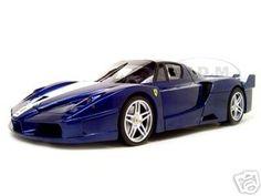 Click Image Above To Buy: Ferrari Fxx Elite Edition Diecast Model Dark Blue 1/18 Die Cast Car By Hotwheels