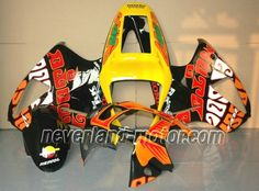 Carenado de ABS de Honda VTR1000 RC51 2000-2006 - Rossi